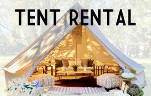 Tent Rental: Sunday 6/13 3:00pm - 5:00pm